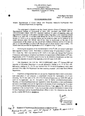 F.No.49014/3/2014- Estt(C) Government of India Offices as on 10.09.1