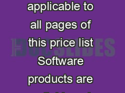 Page  Low Academic Pricing from UCLAs Computer Store of Choice applicable to all pages of this price list Software products are available only to UCLA students selected UCLA Extension students UCLA PowerPoint PPT Presentation