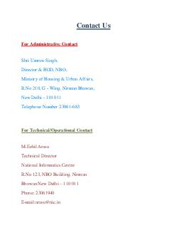 Contact Us For Administrative Contact Shri