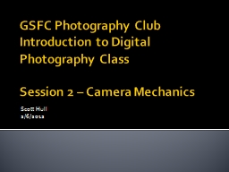 GSFC Photography Club