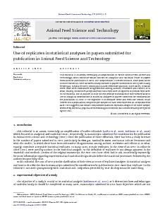 Animal Feed Science and Technology 171 (2012) 1