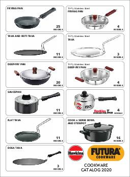 COOKWARE CATALOG  CONTENTS FUTURA THE ULTIMATE COOKING MACHINE