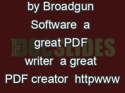 id pdfMachine by Broadgun Software  a great PDF writer  a great PDF creator  httpwww