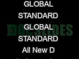 GLOBAL STANDARD COOLER  AKG  changes and errors expected  GLOBAL STANDARD GLOBAL STANDARD All New D Series coolers are available with internal pressure BYPASS Option