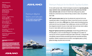 Premium Marine Resins and GelcoatsFor the World's Top Boat Builde