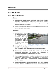 Section 10   Restrooms