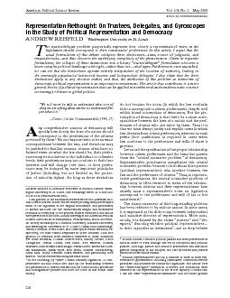 AmericanPoliticalScienceReviewVol.103,No.2May2009 PowerPoint PPT Presentation