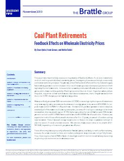 Coal Plant RetirementsFeedback Effects on Wholesale Electricity Prices