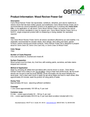 Wood Reviver Power Gel PowerPoint PPT Presentation