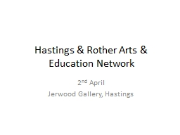 Hastings & Rother Arts & Education Network