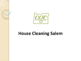 House Cleaning Salem