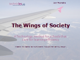 The Wings of Society PowerPoint PPT Presentation