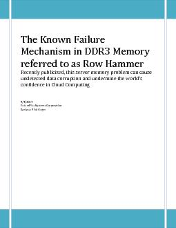 The Known Failure PDF document - DocSlides