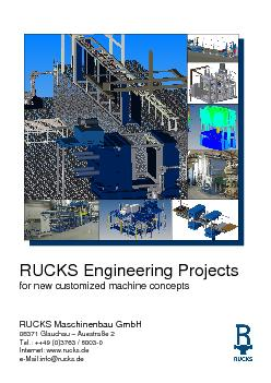 RUCKS Engineering Projectsfor new customized machine conceptsRUCKS Mas PowerPoint PPT Presentation