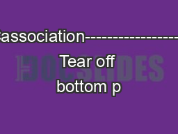 ANNACIVICassociation-------------------------------- Tear off bottom p