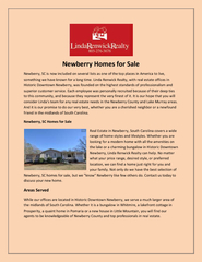Newberry Homes for Sale