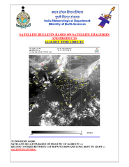 SATELLITE BULLETIN BASED ON SATELLITE IMAGERIES