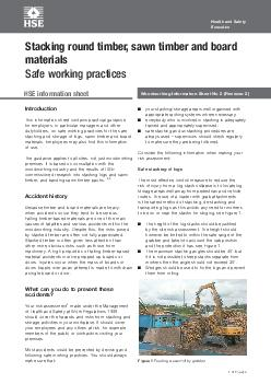 Woodworking Information Sheet No 2 (Revision 2)