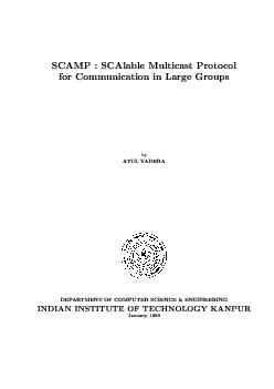 DEPARTMENTOFCOMPUTERSCIENCE&ENGINEERINGINDIANINSTITUTEOFTECHNOLOGYKANP
