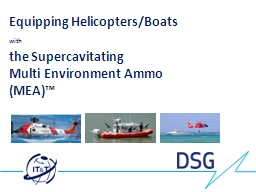 Equipping Helicopters/Boats PowerPoint PPT Presentation