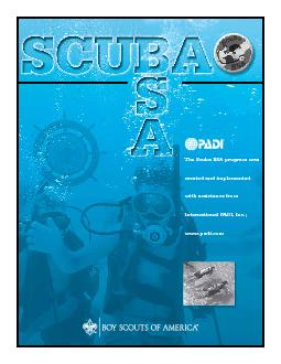 Scuba BSA introduces qualified Boy Scout, Venturing, and registered ad