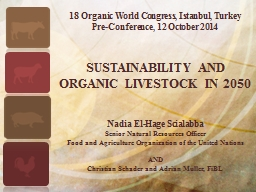 18 Organic World Congress, Istanbul, Turkey PowerPoint PPT Presentation