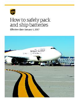 How to safely pack and ship batteriesPublish date:February 6, 2015 ...