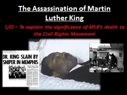 ppt presentation mlk Martin luther king jr by: marisol & martin the civil r ights m oment thousands of blacks boycotted the buses for over a year king's civil rights activities began with a protest of montgomery's segregated bus system in 1955 .