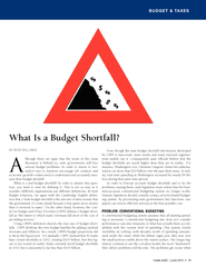 BUDGET & TAXES