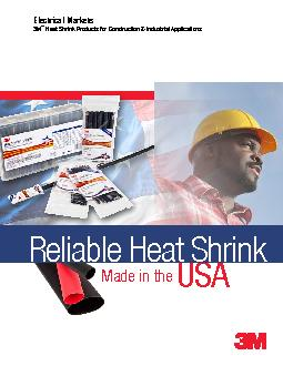Electrical Markets Heat Shrink Products for Construction & Industrial