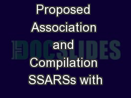 Review of Proposed Association and Compilation SSARSs with