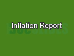 Inflation Report