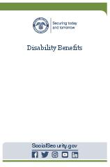Disability Benets  Contact Social Security Visit our w