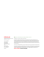 An Oracle White Paper September  Highest Application A