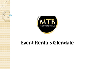 Event Rentals Glendale PDF document - DocSlides