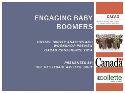 Engaging Baby Boomers