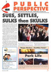 December 2008ALL our Schools across Victoria celebrated the contributi