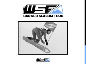 PROPOSAL FOR SEASON ONE OF THE WSF BANKED SLALOM WORLD TOUR THE WSF Wo