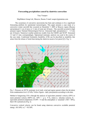 Forecasting precipitation caused by slantwise convection MapMakers Gro