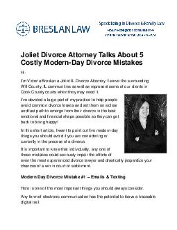 liet Divorce Attorney Talks About  Costly Modern Day D