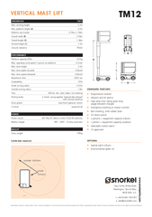 Specifications subject to change without notice. Photos and diagrams i