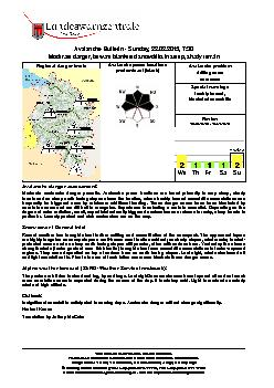 This bulletin describes the overall situation.Please heed additional r