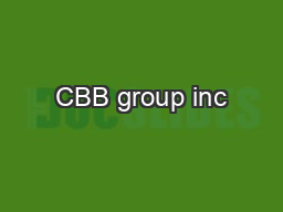 CBB group inc