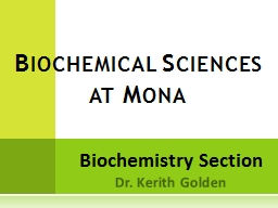 Biochemistry Section