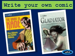 Write your own comic