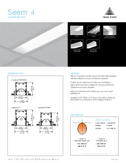 FLUORESCENT GRID PRODUCT OVERVIEW FEATURES DIMENSIONAL DATA PERFORMANCE lens louver individual T individual TTHO ro w mount TTHOT PowerPoint PPT Presentation