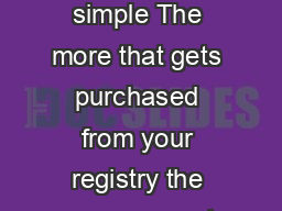 Baby Gift Registry Registry Rewards The concept is simple The more that gets purchased from your registry the more you get back in our Toymart Rewards Program