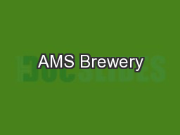 AMS Brewery