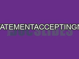 CPSOPOLICYSTATEMENTACCEPTINGNEWPATIENTS e PDF document - DocSlides