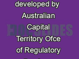 Rental cars An industry guide to the Australian Consumer Law  This guide was developed by  Australian Capital Territory Ofce of Regulatory Services  Australian Competition and Consumer Commission  Au